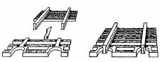 Fleischmann N 22215 Schwellenendstück Flexgleis 24 Stück - NEU + OVP