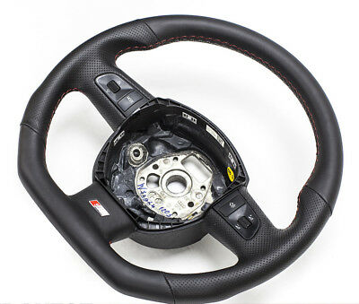 Simbolo Del Marchio S-line Spianate Volante Multif Quadro Oltre Ad Ascoltare Tutte Volante In Pelle Audi A4, A6, A8,- In Vendita