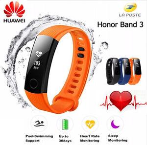 Huawei Honor Band 3 INTELIGENTE MULTIFUNCIÓN SEGUIMIENTO PASOS PULSOMETRO Naranj
