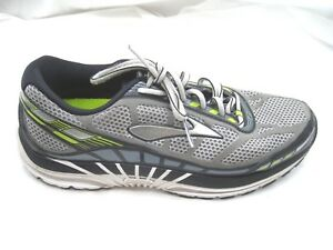 Brooks-Dyad-8-gray-black-running-mens-sneakers-tennis-shoes-sz-8-5D-2015