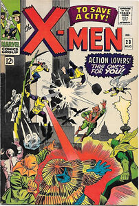 X-Men Comic Book #23, Marvel Comics 1966 VERY FINE-/VERY FINE