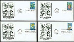 #1783-1786 15c Endangered Flore- Artmaster Premier Jour Any 4 = nyHn4trn-07152057-933651374