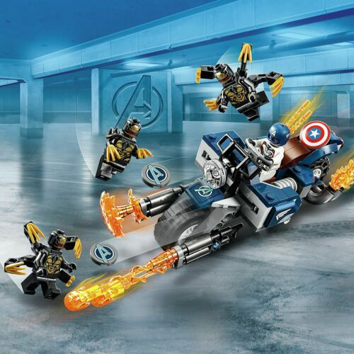 76123 LEGO Marvel Avengers Outriders Attack Toy