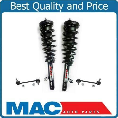 For 09-13 Mazda 6 S 3.7L V6 2 Front Coil Spring Struts Mounts Sway Bar 4Pc
