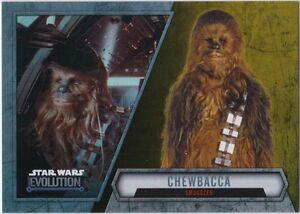 Smuggler Star Wars Evolution 2016 Base Card #59 Chewbacca