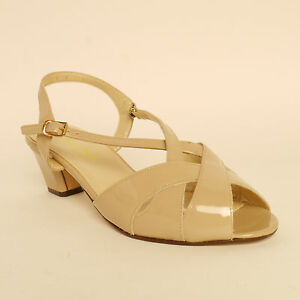 0a047925a7 Van Dal Ladies Strappy Sandals  Libby II  Nude Patent E Fitting RRP ...