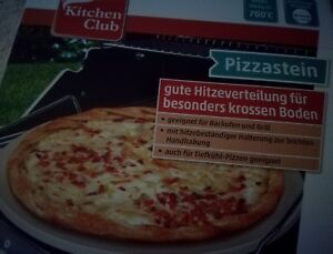 Pizzastein Für Gasgrill Landmann : Pizzastein kitchen club cm ebay