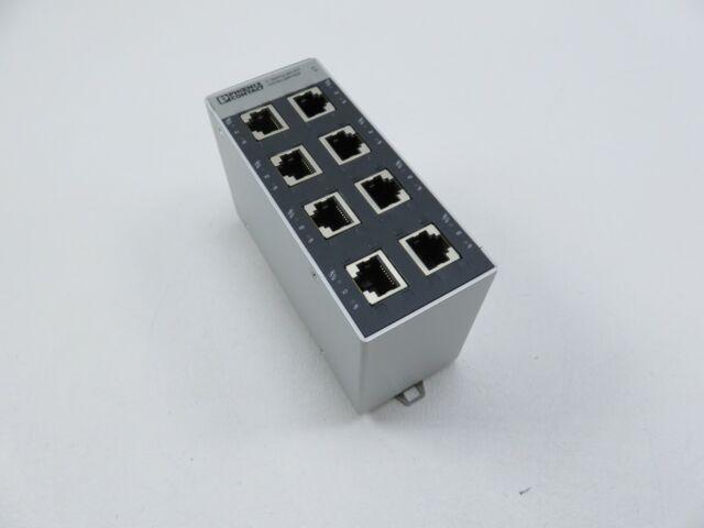 PHOENIX CONTACT  2891929 SFN-8TX Industrial Ethernet FL Switch 8-Port