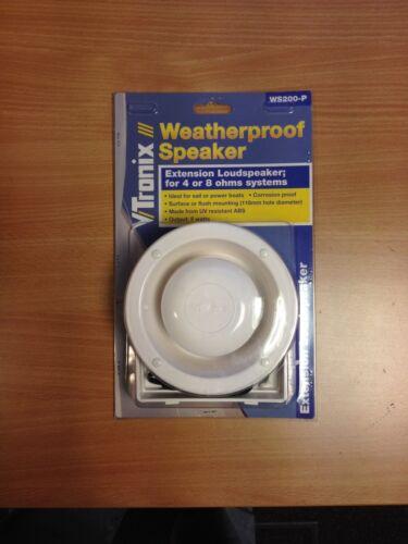 VTRONIX Loud Speaker VHF Radio 1 m cable Marine Weatherproof Exterior salt water