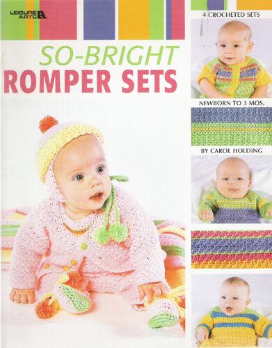 SO BRIGHT ROMPER SETS ~ PATTERNS ~ NEW ~ SUPER SALE