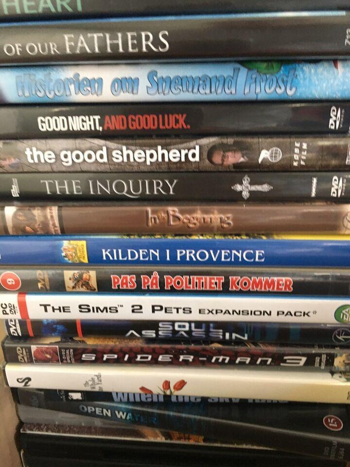 Blandet, DVD, action