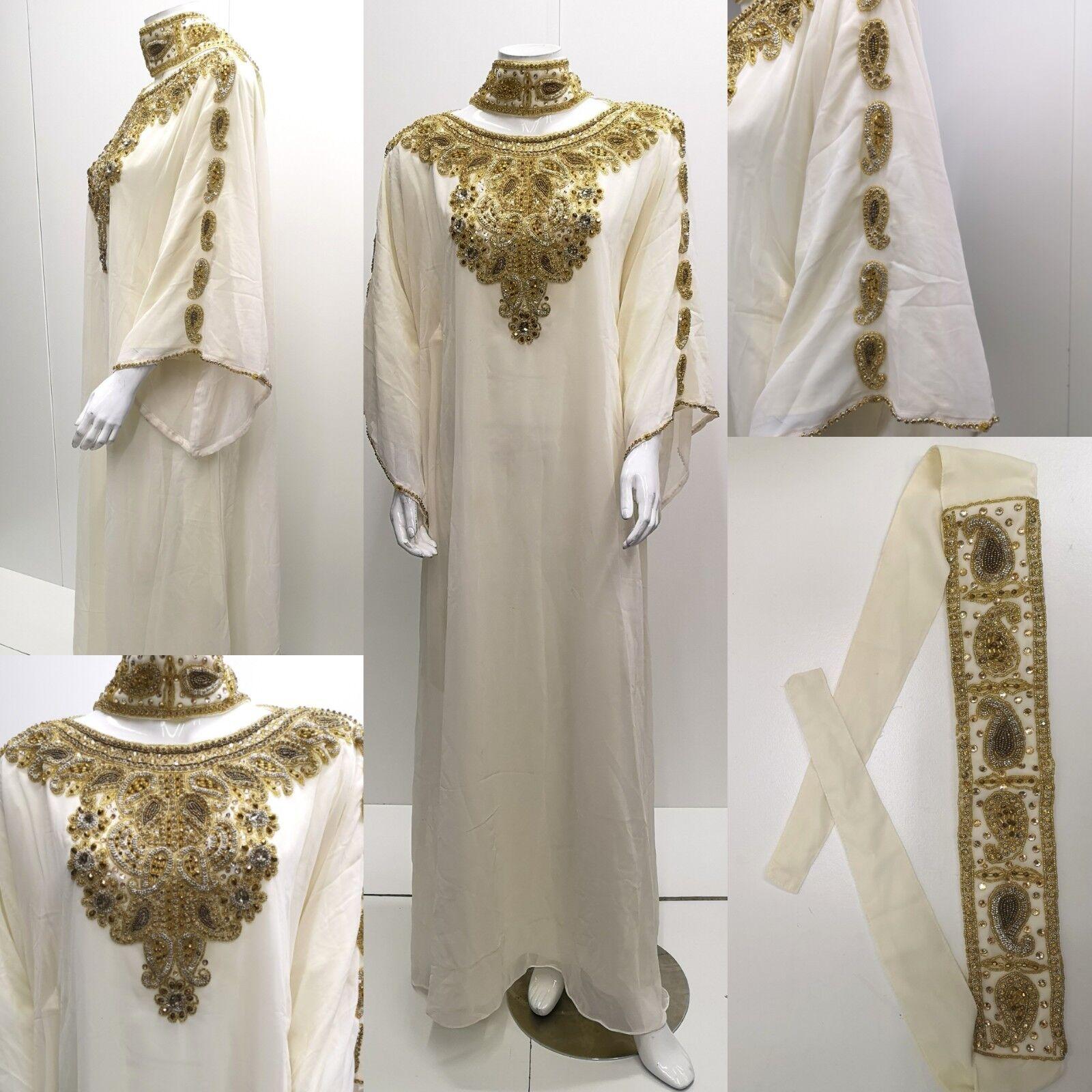 Dubai Farasha .maxi Dress.kaftan Dress.kaftan Dress.kaftan .khaliji Farasha.party Dresses.one Größe 6f0245