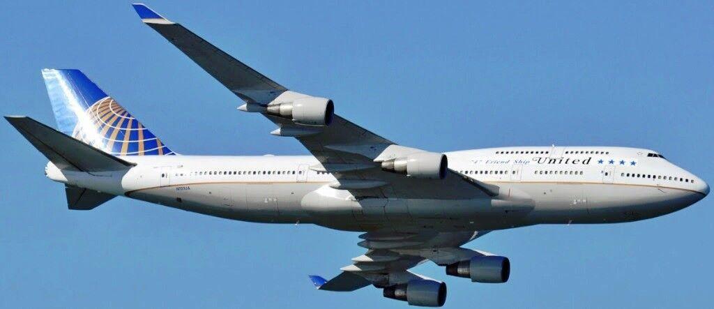 Jc Wings JC2204 1/200 United Boeing 747-400 747 Amicizia con Supporto