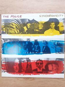 The-Police-Synchronicity-A-amp-M-Records-AMLX-63735-Vinyl-LP-Album