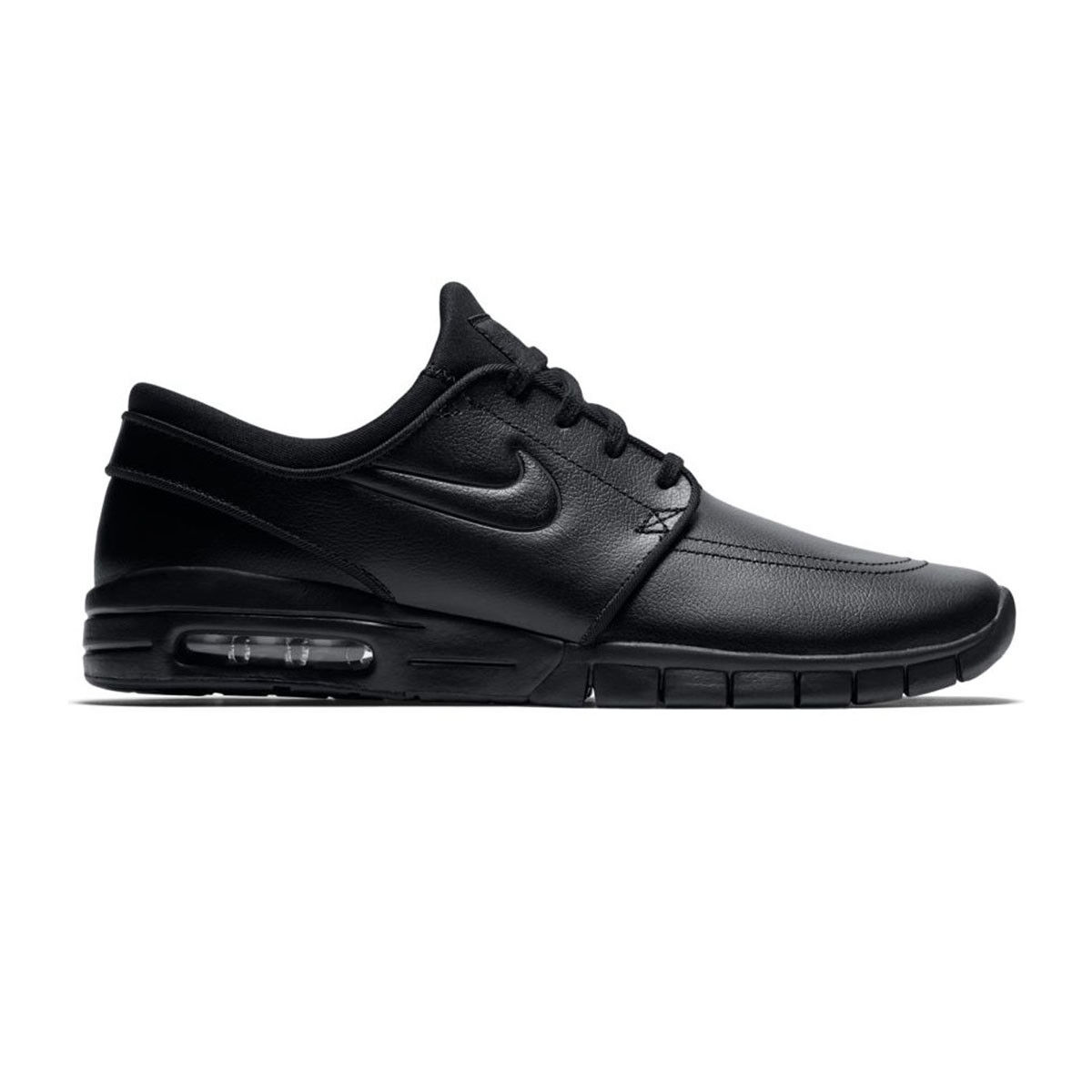 Nike SB Stefan Janoski Max Leather (Black) 685299-009 Size 8 UK