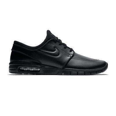 brand new 9d720 65d56 Details about Nike SB Stefan Janoski Max Leather (Black) 685299-009 Size 7  UK