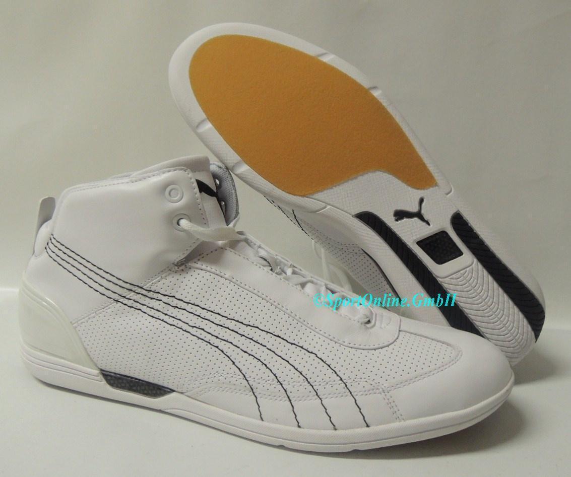 NEU Puma Driving Power Mid TPU Größe 47 Leder Sneaker Schuhe Boots 303741-01