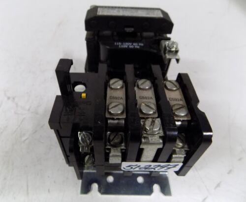 GENERAL ELECTRIC NEMA SIZE 1 MOTOR STARTER CR308C2380XXA
