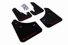 Rally Armor Black Mud Flap w/ Red Logo For 04-09 Mazda3/Spd3