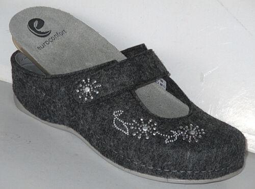 EUROCONFORT Damen Pantoffeln auch für lose Einlagen geeignet Art.202 +NEU+++