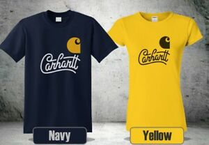 Free shipping J3-195 Carhartt K195 Short Sleeve Signature Logo T-Shirt