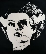 BRIDE OF FRANKENSTEIN  BLACK CANVAS BACK PATCH