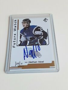 Nathan-Noel-Custom-Card-Future-Watch-Auto-Signed-In-Person-Rookie-Rc