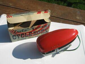 Exelo Super Cycle Horn 1955 Comme Neuf Original En Âge Porté Très Bon état Boîte D'origine-afficher Le Titre D'origine