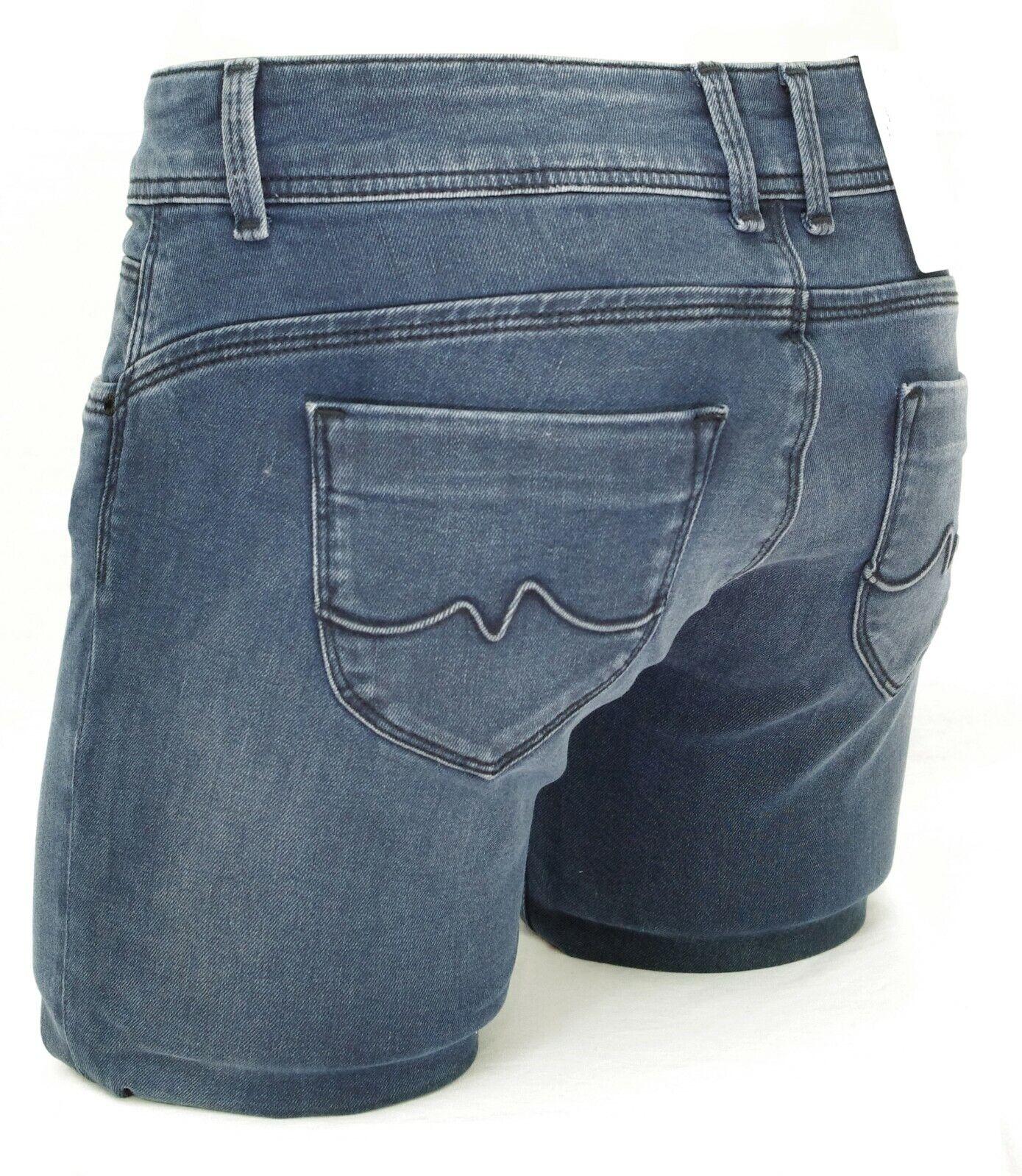 ebaa86e8473 PEPE JEANS NEW BROOKE jean slim fit femme blue black PL200019CE42 W ...