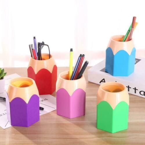 Kreativstift Vase Bleistift Feder Verfassungs Bürsten Briefpapier Desk Halt V5F1