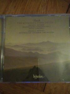 Audio-CD-Hyperion-Bach-keyboard-concertos-vol-1-Hewitt