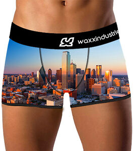Waxx-Mens-Underwear-034-Dallas-034-Boxer-Shorts-Multi