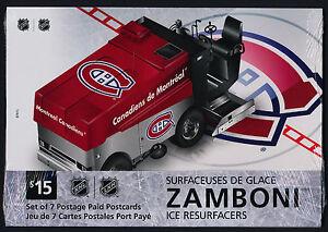 Ebay Canada Carte Hockey.Details About Canada Ux406 12 Prepaid Postcards Mnh Ice Hockey Zamboni Sports