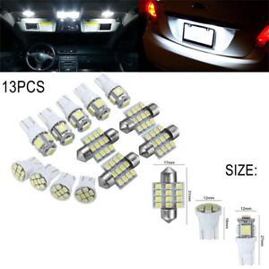 Fit AUDI S-LINE TDI Models Bright White LED Number Plate Light Bulb PLUG /& PLAY