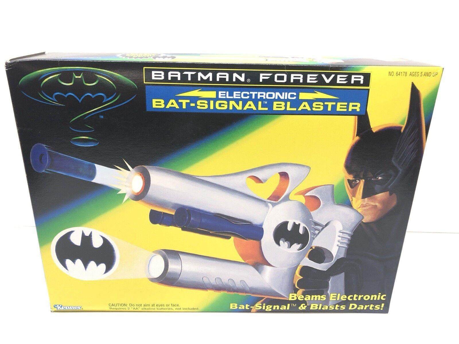 Kenner batman forever bat-signal blaster versiegelt erstbezug 1995