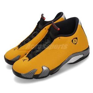 huge selection of 1e89e ed7d4 Details about Nike Air Jordan 14 Retro SE XIV Reverse Ferrari Gold Black  Red Yellow BQ3685-706
