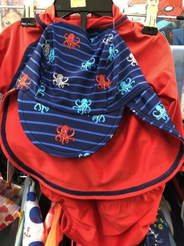 Peanut Shell Long Sleeve Rashie Hat Peanutshell Baby Swimmers Nappy Pants