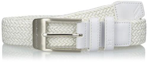 4 Colors Under Armour Men/'s Braided Belt 2.0