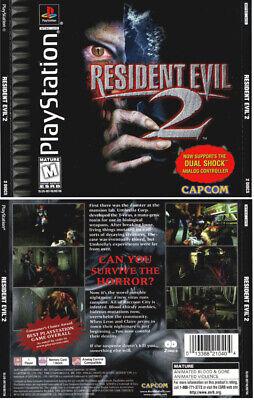 resident evil 2 ps1 box art