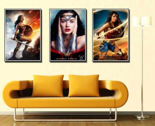 New Wonder Woman and Batman Movie Custom Poster Print Art Decor T-464