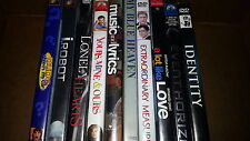 DVD Wholesale Lot Count of 10 A