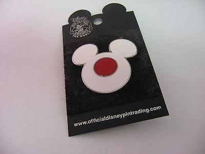 Buttons & Pins Reversnadel Pinback Disney Weiß & Rot Mickey Maus Kopf Größere Größe 2019 New Fashion Style Online Tv-fanartikel