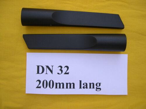 2 Stück Flachsaugdüse DN32 Fugen Saugdüse 200 lang  für Staubsauger NT Sauger