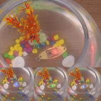 LED Deep Drop Underwater Eye Shape Fishing Squid Fish Lure Light Flashing Lamp