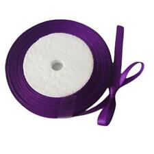 1 of 6mm purple satin ribbon roll 25 yards-9270