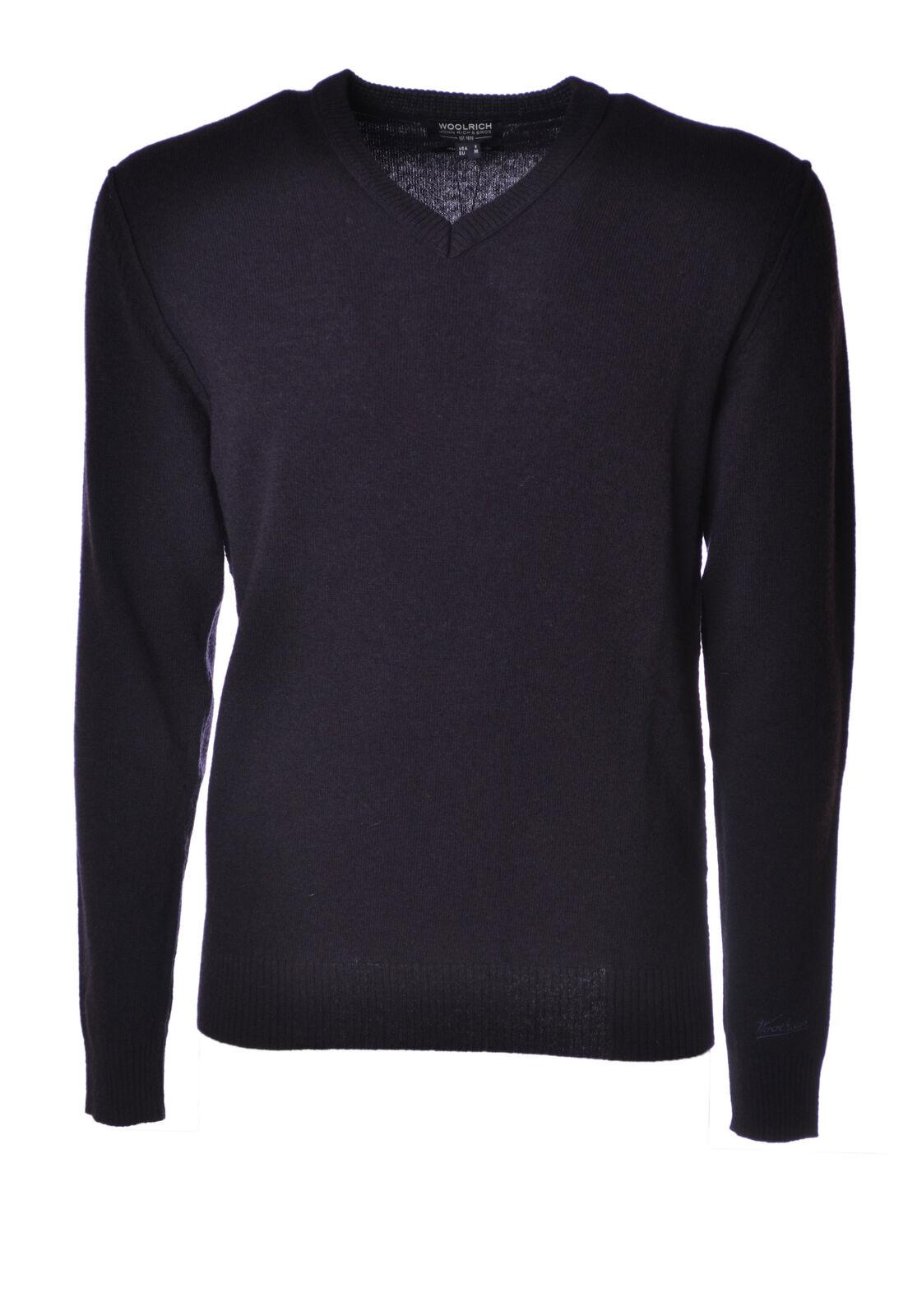 Woolrich  -  Sweaters - Male - Blau - 4217427A185859