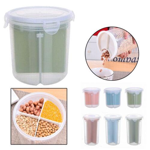 Plastikdichtungs Dosen Nahrungsmittelkorn Vorratsglas Küchen Vorratsbehälter