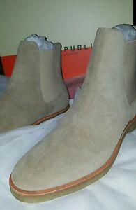 4bd8928d3b6 beige chelsea boots Kanye Yeezy common projects new republic mark ...