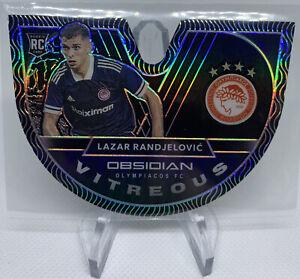 LAZAR RANDJELOVIC 2020-21 Obsidian Soccer RC Vitreous Diecut Olympiacos #14/99🔥