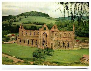 Postcard-TINTERN-ABBEY-MONMOUTHSHIRE-Wales-Ref-D5